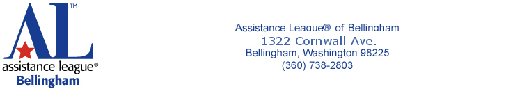 Assistance League of Bellingham, 1415 Cornwall Avenue, Bellingham WA 98225